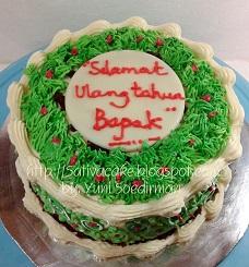 red velvet cake pesanan mbak atik