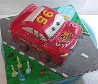 the cars cake (mc queent ) for Gee