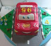 mc queent cake 3d fo Gee