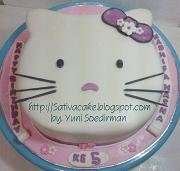 hellokitty cake for Nadhifa