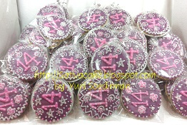 fancy cookies for mbak vivi