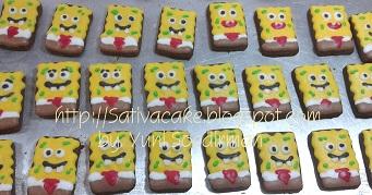 kukis karakter spongebob