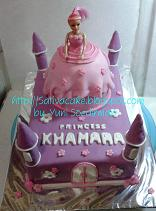princess cake / barbie cake for khamara