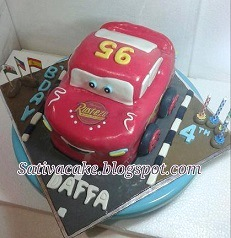 mc quennt cake 3D for Daffa