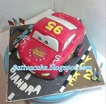 the cars cake 3D for Giandra
