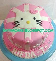kue ulang tahun hellokitty for Rifda