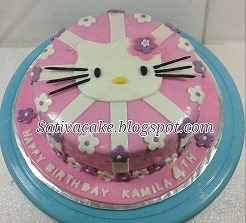hellokitty cake for kamila