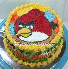 angri bird cake pesanan mbak nining