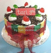 black forest cake buat tari