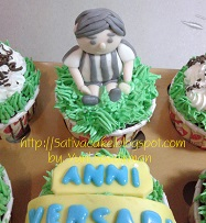 cup cake set for mbak dhea
