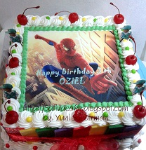 black forest spiderman buat oziel