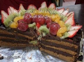 mocca nougat cake