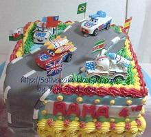 cake ultah for rama