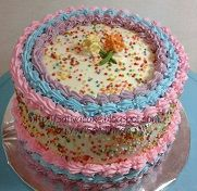 rainbow cake for mbak widya