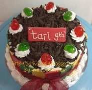 black forest cake for tari