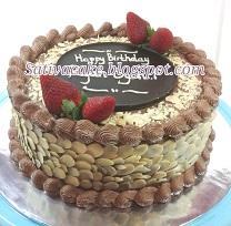 mocca nougat cake for mbak mety