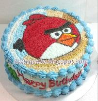 angry bird cake for akhtar