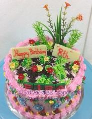 kue ulang tahun pesanan mama fira
