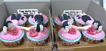 cup cake set for mbak vivi