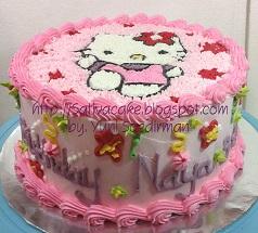 hellokitty cake pesanan mbak Elly