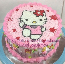 hellokitty cake for Naya