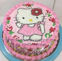 Hellokitty Cake pesanan bu Happy