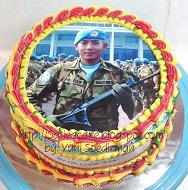 cake ultah dg edible foto pesanan mbak lia