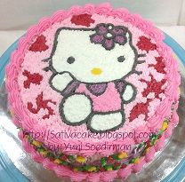 Hellokitty Cake for Nayla