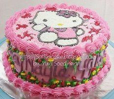 Hellokitty Cake pesanan mbak dewi