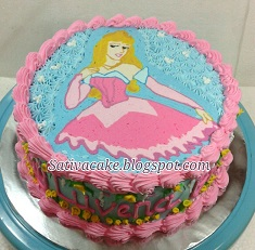 princess buttercream