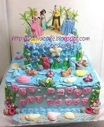 under the see cake pesanan mbak sherly