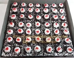 cake potong cokelat