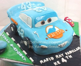 Dinoco Cake 3D for Rafid