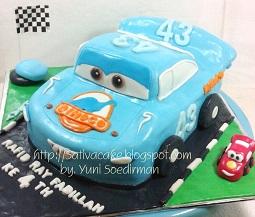 Dinoco Cake 3D pesanan mbak Resti