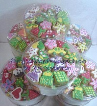 fancy cookies / kukis hias