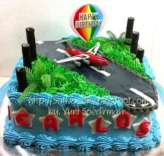 cake ultah for carlos