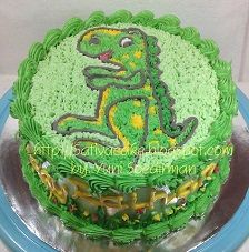 cake ultah for raihan