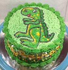 cake ultah dengan buttercream