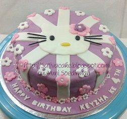 kue ulang tahun hellokitty for keyzha