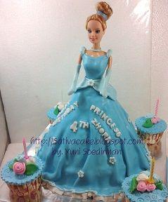 princess 3d pesanan  mbak dawi