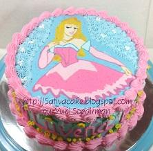 princess cake pesanan mbak karoline