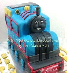 thomas cake 3d untuk Maulana