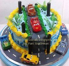 the cars cake pesanan mbak fenty