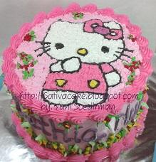 Hellokitty Cake Nuat Dethia Dapursativa