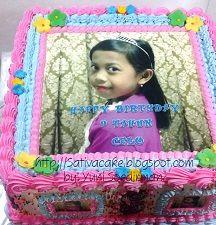 kue ulang tahun pesanan mbak dewi