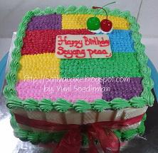 balack forest cake pesanan mbak Emil