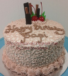 cake ultah pesanan tante titin