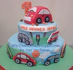 cake ultah for kyle