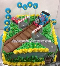cake ultah buat Alby