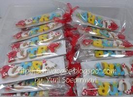 cookies nama pesanan mbak siti